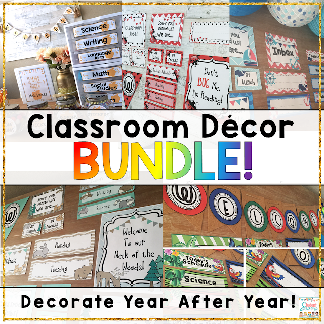 classroom decor teaching resource