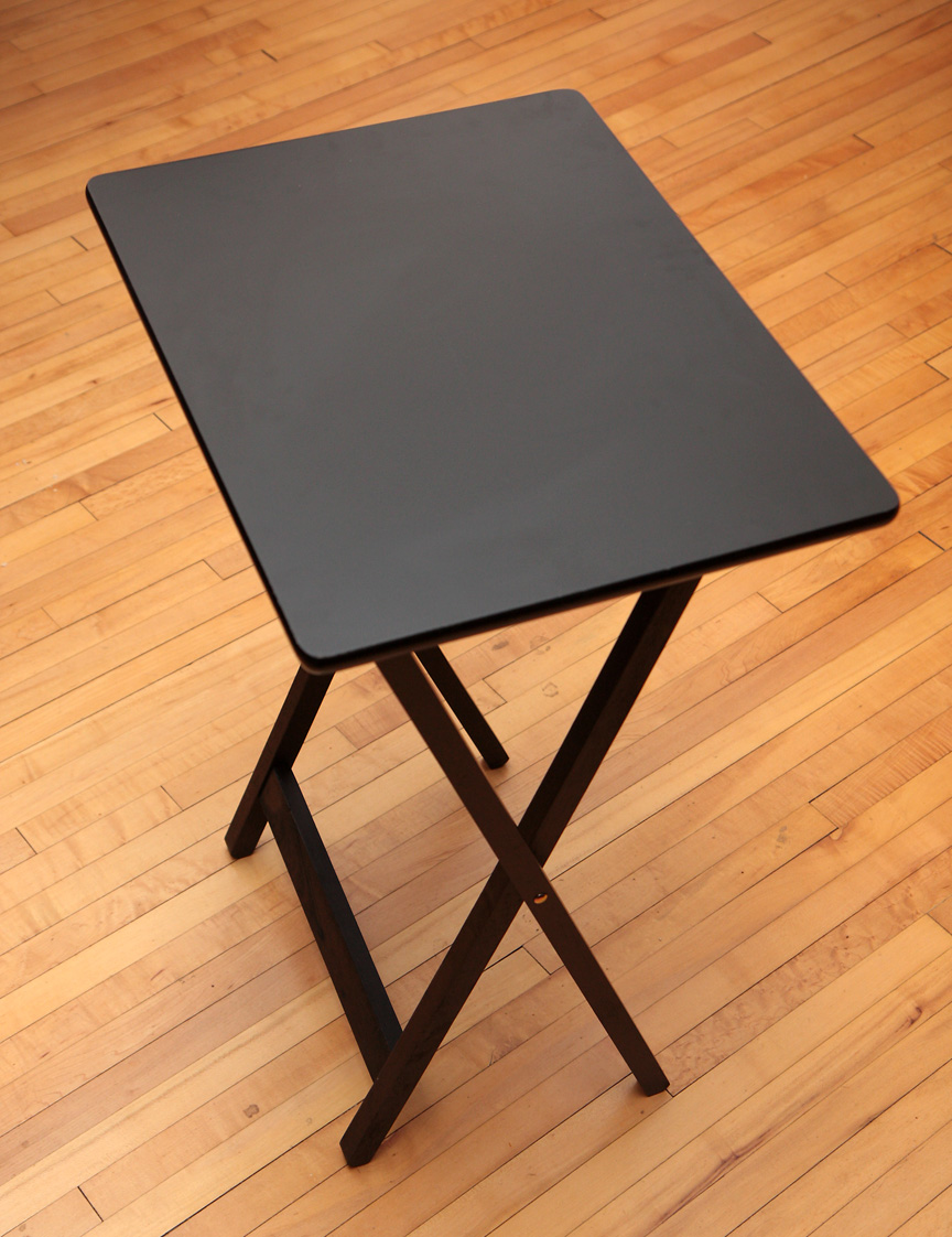 How To Make A Portable Ironing Board From A Tv Tray Table A Little