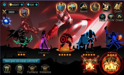 Hero Legend Stickman Pro v1.9.0 APK Terbaru (MOD Unlimited Money)
