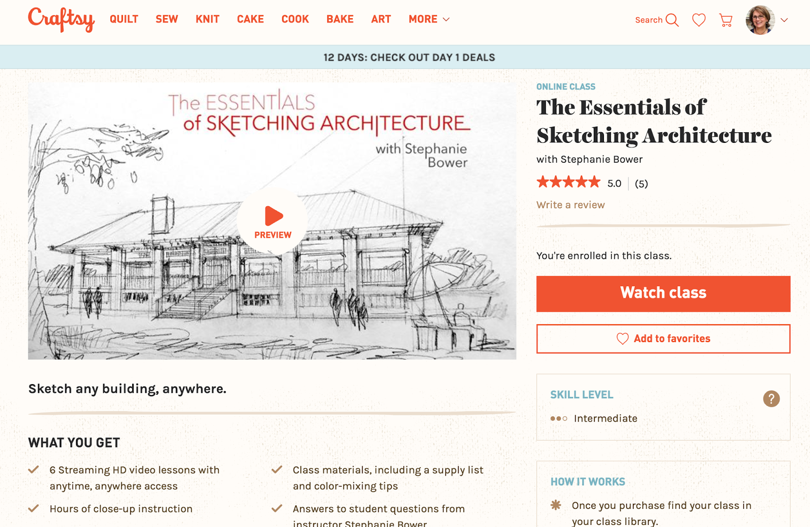 drawing perspectives real discount codes for craftsy classes online