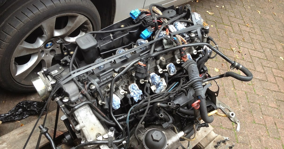 Beemer Lab: E60: Engine Swap Week  Day 4
