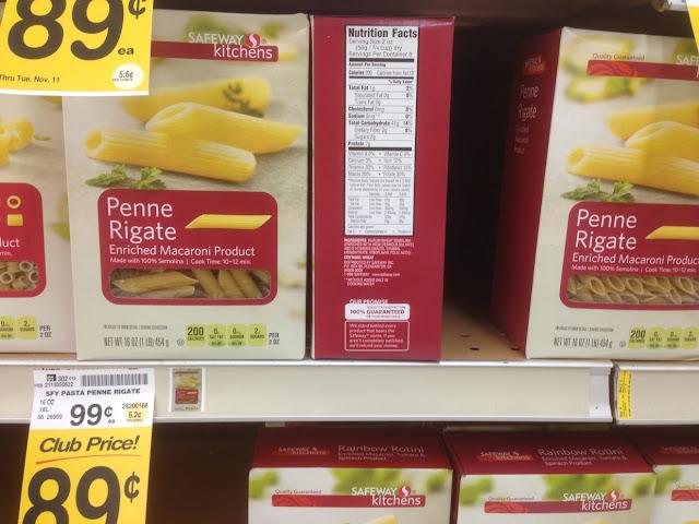 Penne Rigate Pasta, Safeway Kitchens - Safeway