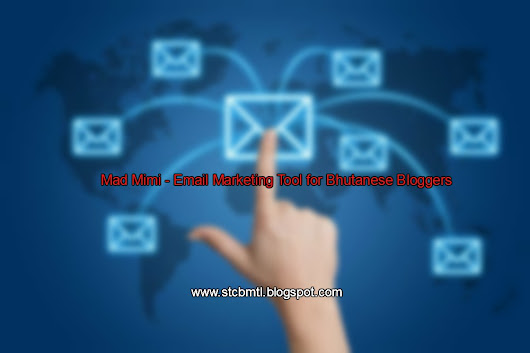 Mad Mimi - Email Marketing Tool Suitable for Bhutanese Bloggers