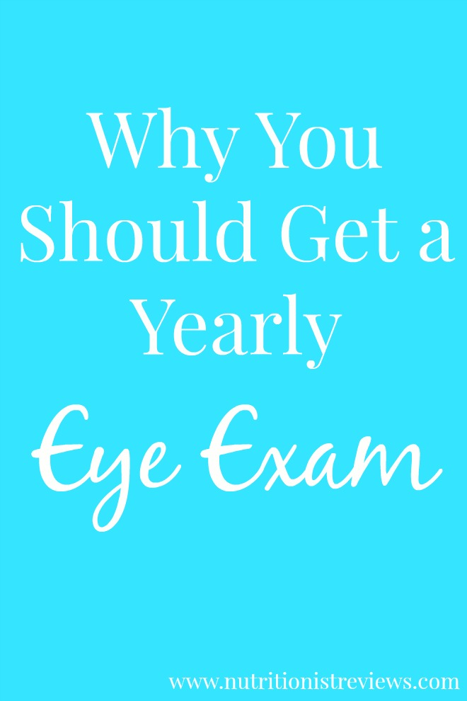 Why You Should Get a Yearly Eye Exam