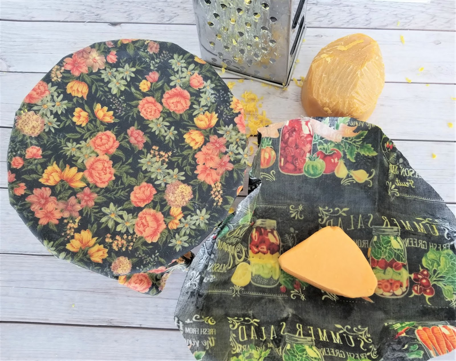 How to Make Beeswax Wraps + Free Printable Pattern   Sew