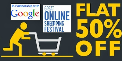 (Hurry!! Last Day) Great Online Shopping Festival: Claim your Flat 50% Discount Coupon Valid on All Products at Basicslife