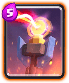 Carta da Torre Inferno do Clash Royale