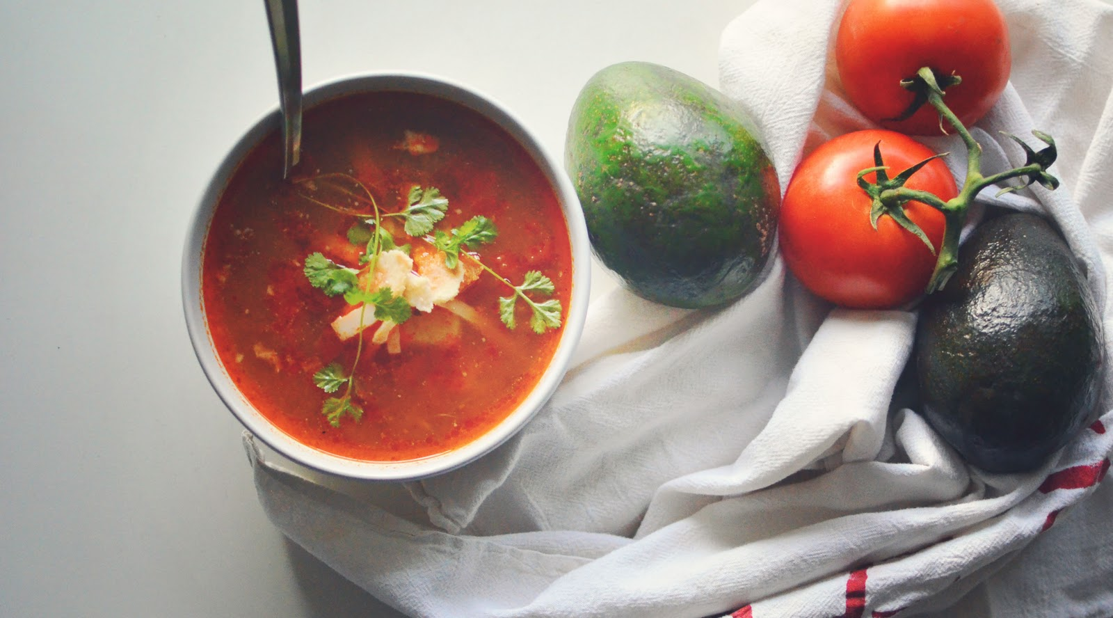 Chili Lime Avocado Soup