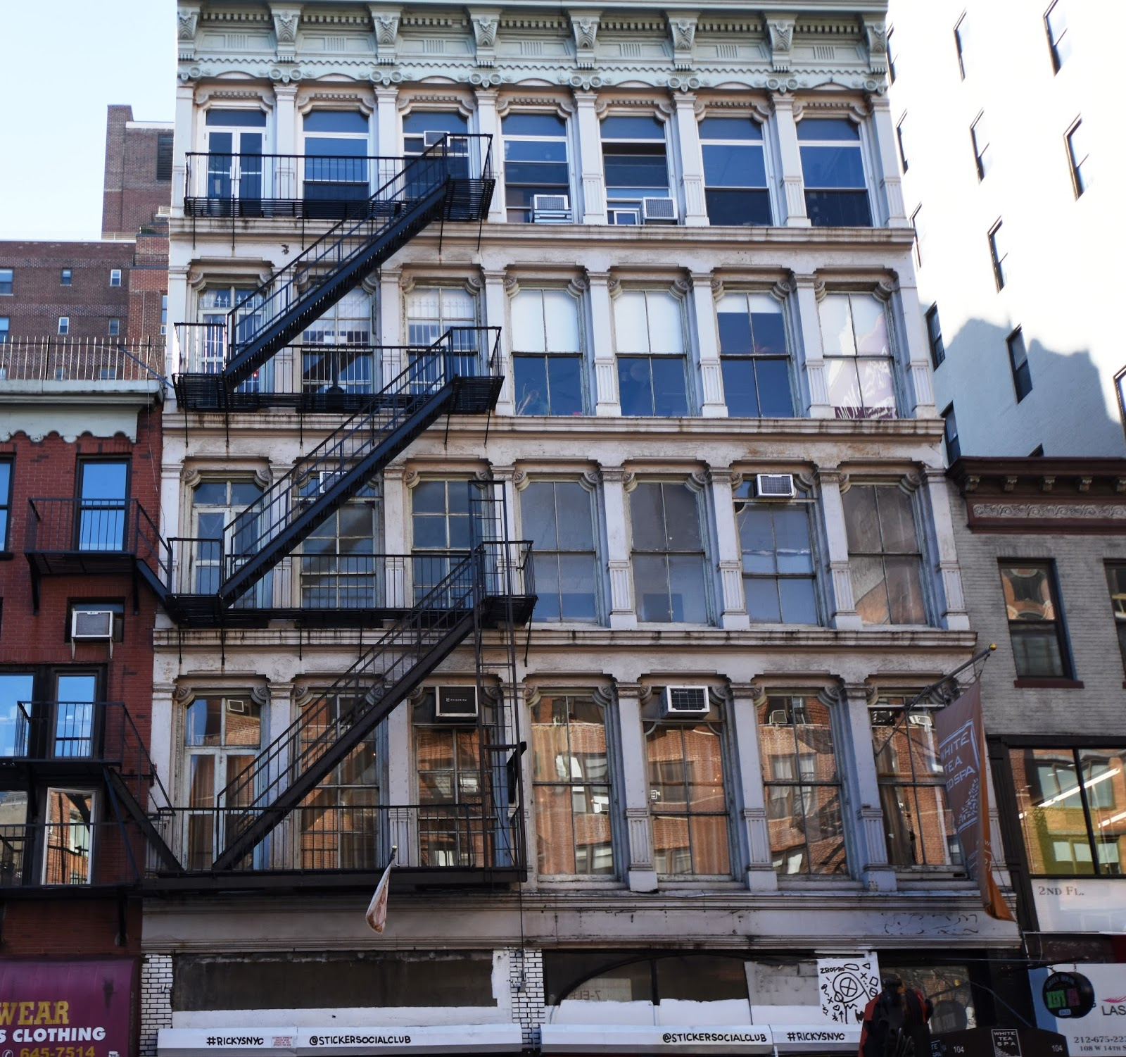 Manhattan Streets: Daytonian In Manhattan: The 1876 Geo. C. Flint Building
