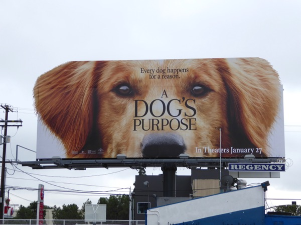 Dogs Purpose extension billboard