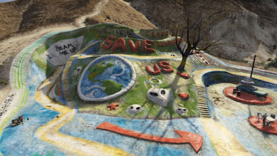 Salvation Mountain en el videojuego Grand Theft Auto V