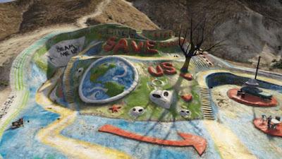 Salvation Mountain en el videojuego Grand Theft Auto V