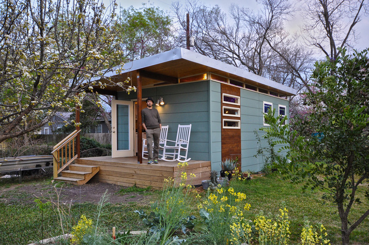 TINY HOUSE TOWN Modern Cabin From Kanga Room Systems
