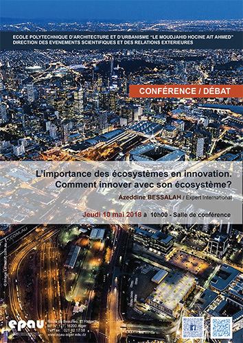 Conférence - Les écosystèmes en innovation