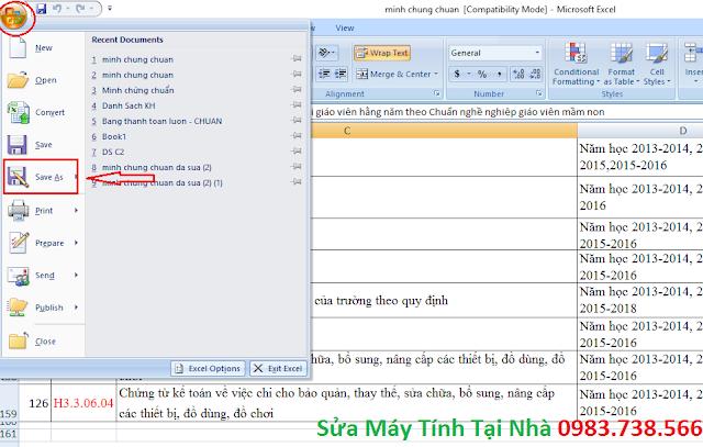 Đặt mật khẩu file Excel, Word - H01
