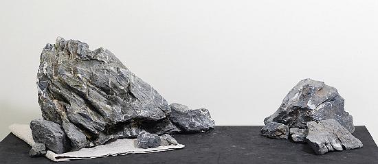 đá xanh trong bể thủy sinh