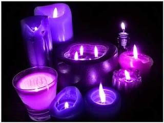Velas mágicas: Vela violeta