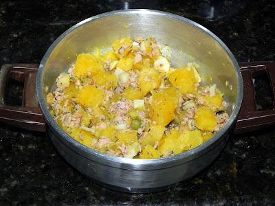 receita salada mandioquinha