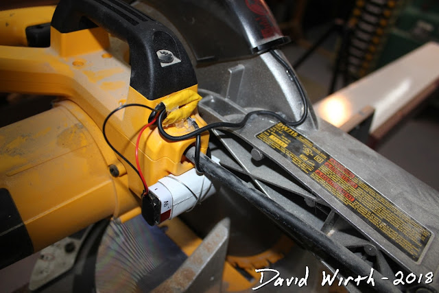 free led light for miter saw