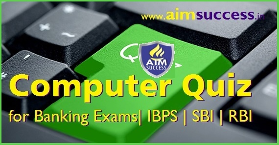 Computer MCQ for SBI PO 2018: 30 May
