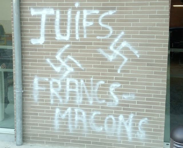 Frases racistas e anti-maçonaria de um homem que foi preso em Toulouse