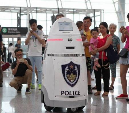 Anbot Robot Bandara Tiongkok www.etuci.com traveling jalan jalan wisata