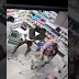 Watch video of woman stashing stolen goods in her pant in South African (Watch)