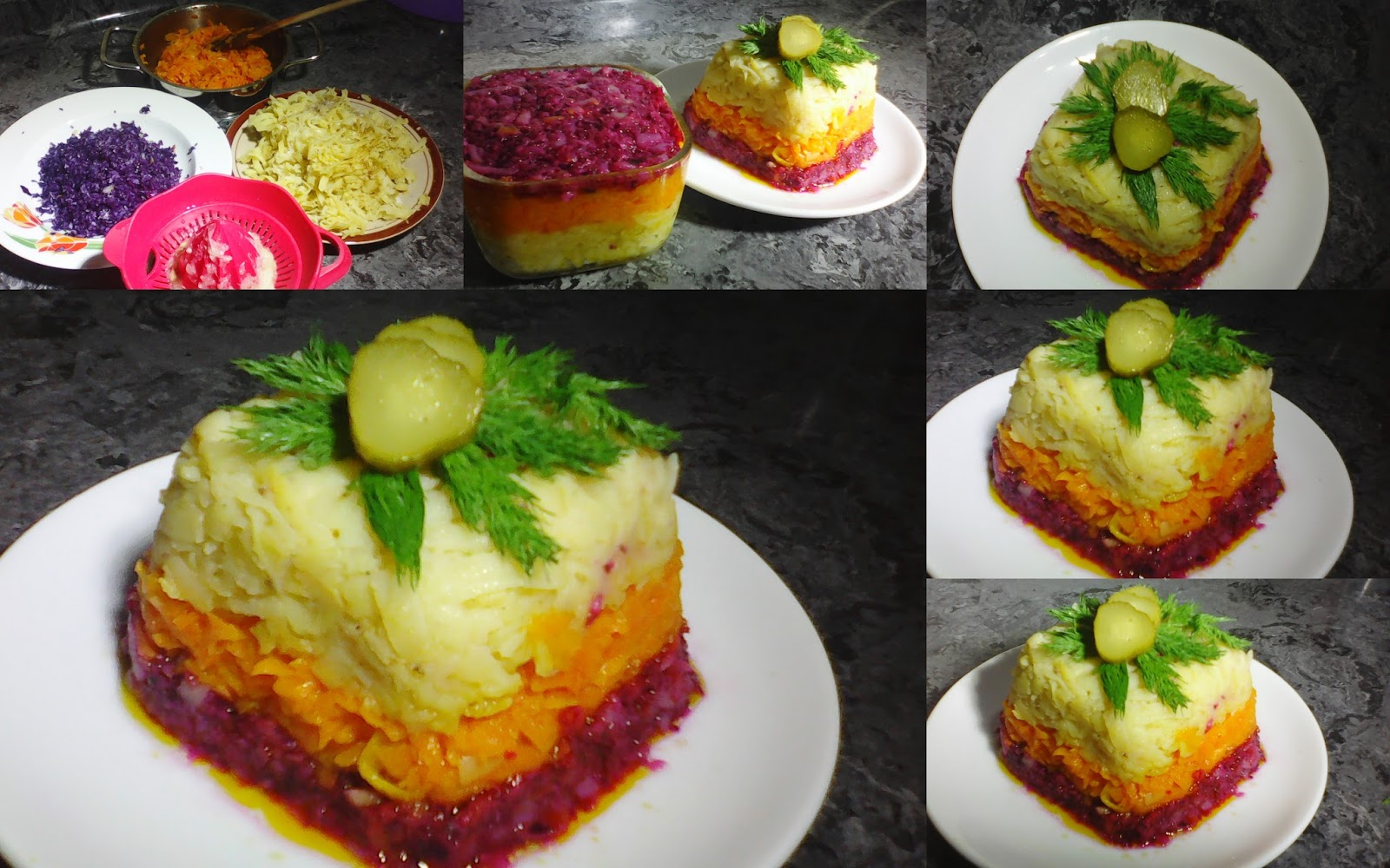 Renkli Kek Salata Tarifi – Salata Tarifleri