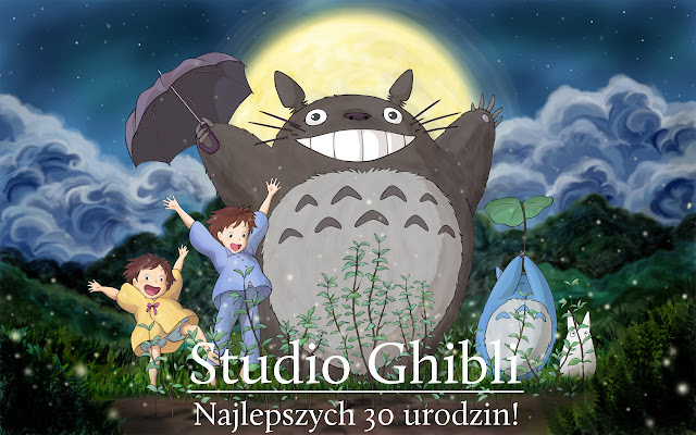 30 urodziny Studio Ghibli - życzenia z okazji urodzin