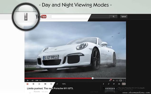 إضافة لتشغيل فيديوهات اليوتيوب بجوده HD بشكل آلى Magic Actions for YouTube