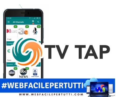 TVTAP 1.6 APK Android Disponibile Al Download La Nuova Versione Aggiornata