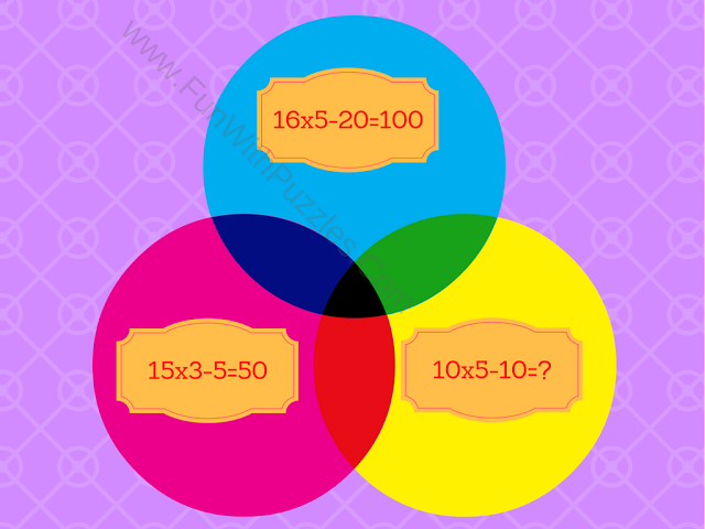 Mathematics Equations Circle Picture Puzzle-5