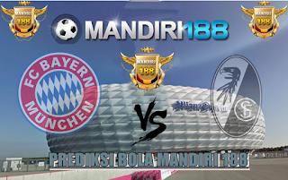 AGEN BOLA - Prediksi Pertandingan  Bayern Munchen vs SC Freiburg 20 Mei 2017