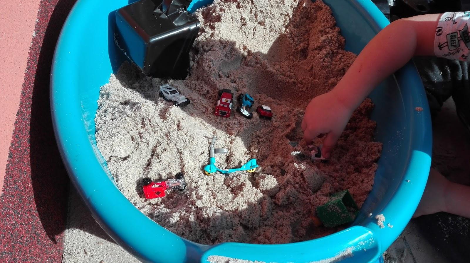 zabawy w piaskownicy