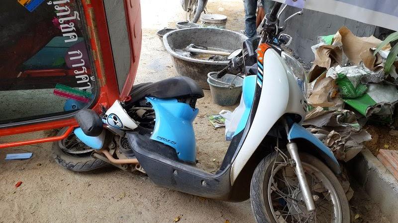 Скутер Скупи Хонда