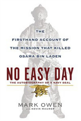 No Easy Day by Mark Owen and Kevin Maurer - book cover