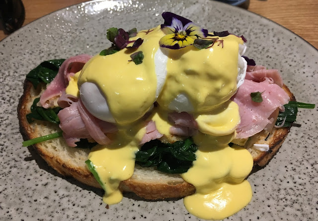 Charisma Workshop, Melbourne, Grandma ham eggs benedict
