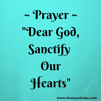Image for Prayer: Sanctify Our Hearts