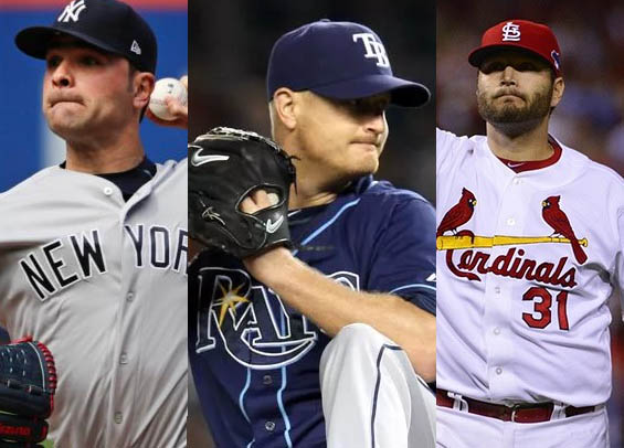 The Philadelphia Phillies are targeting depth for the starting rotation