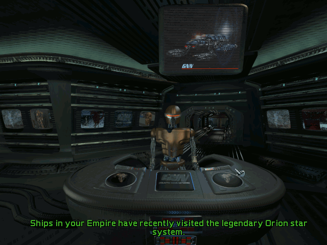 Screenshot from Master of Orion 2