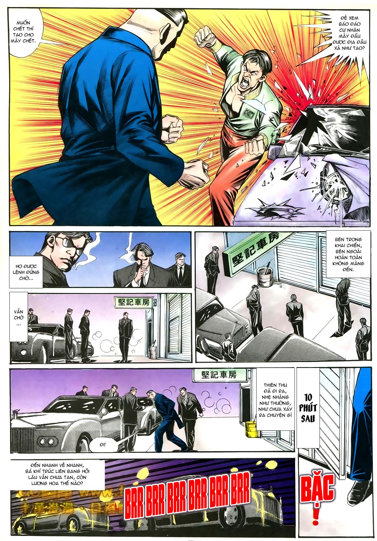 Người Trong Giang Hồ chapter 192: bá khí trúc liên bang trang 12