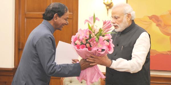 PM Narendra Modi Wishes Telangana Chief Minister KCR 63 rd Birthday
