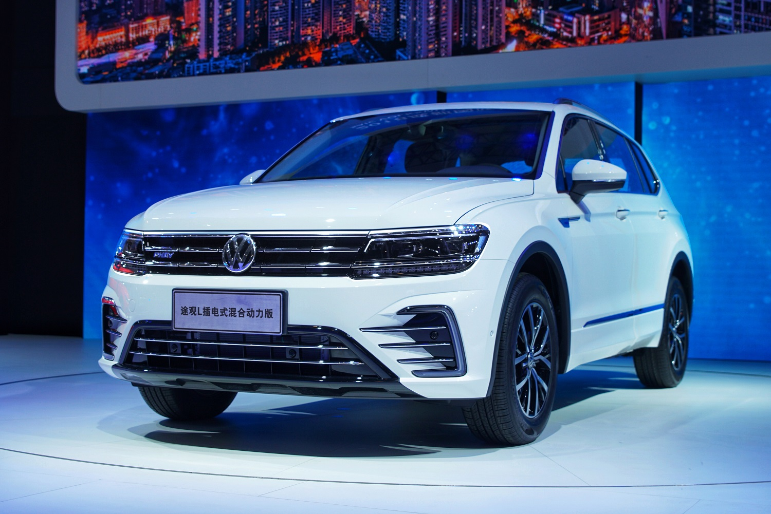 On August 31 2018 The 21st Chengdu International Automobile Exhibition Kicked Off Volkswagen Brand World S First Plug In Hybrid Suv Tiguan L