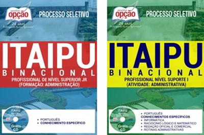 Apostila Itaipu Binacional PR 2017