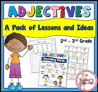 Adjective Pack of ideas and lessons