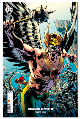 Hawkman Despertar de Venditti y Hitch, edita ECC comic superhéroes