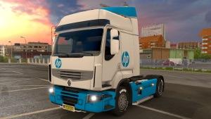 Renault Premium HP skin
