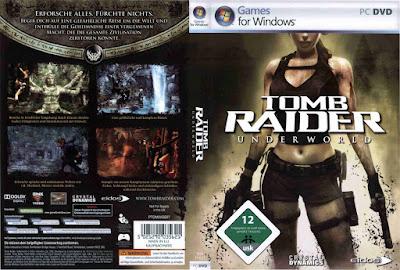 Jogo Tomb Raider Underworld PC DVD Capa