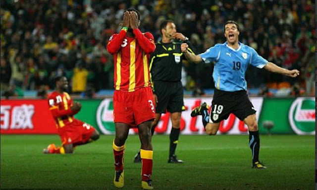 Suarez handball still haunts me – Gyan [Video]