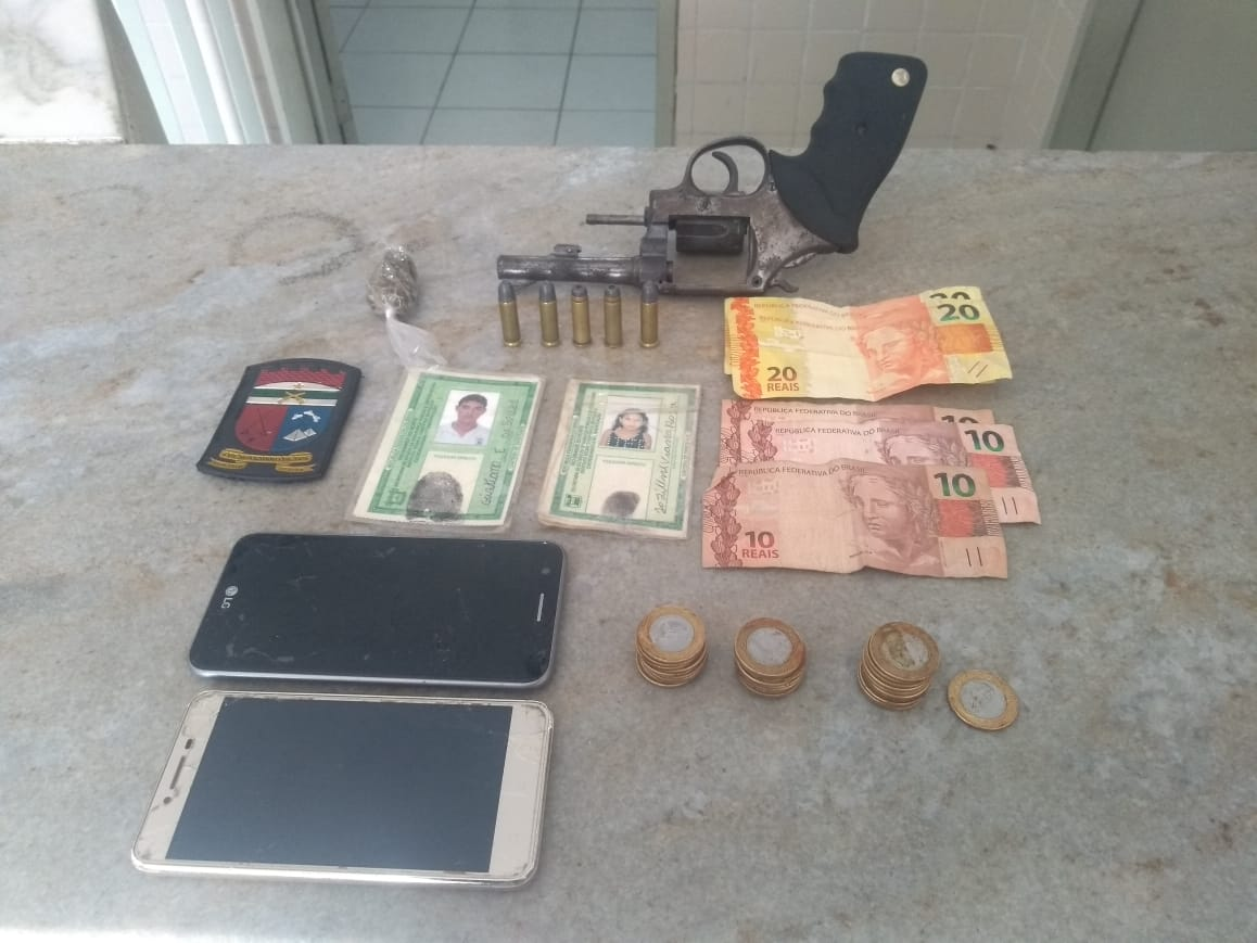 6a8ed31d5070e Polícia Militar de Monte Alegre prende suspeito com arma de fogo e ...